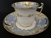 SOLD COALPORT coffee cup & saucer c1810